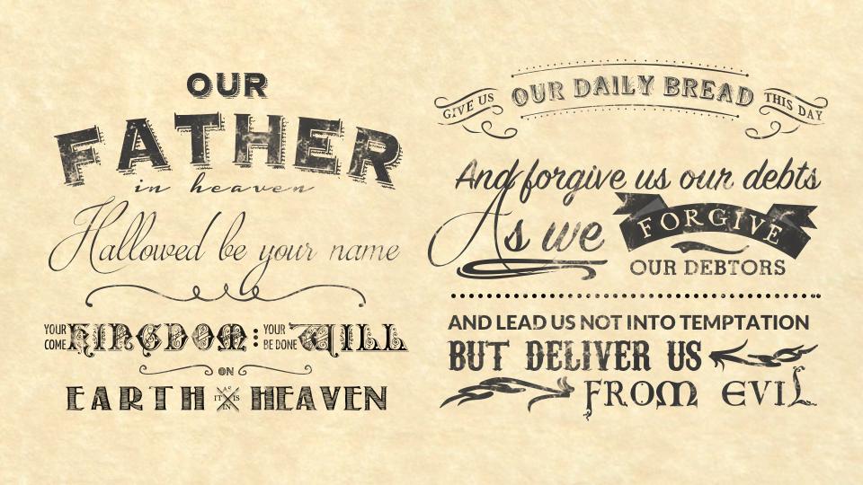 The Lord's Prayer Archives - Cornerstone Presbyterian Church